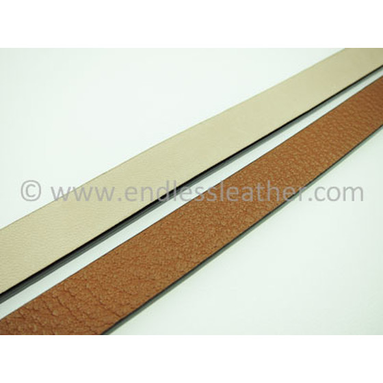 Buffallo Leather 14,0 x 4,0mm - cognac