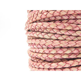rose Round lace and cotton end 2,5mm