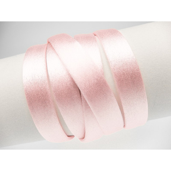 Silk Cord without Core aprx. 8x4mm - rose