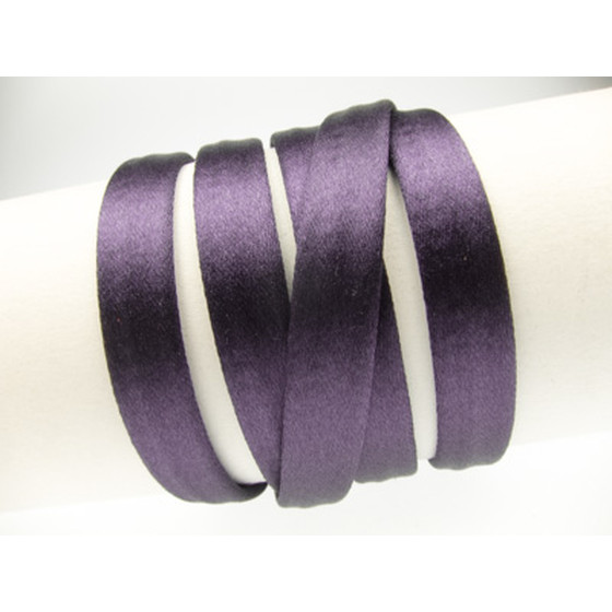 Silk Cord without Core aprx. 8X4mm - purple