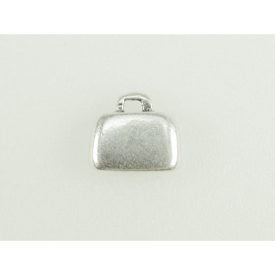 End Cap Pewter, 10,0x2,0mm - Antique Silver