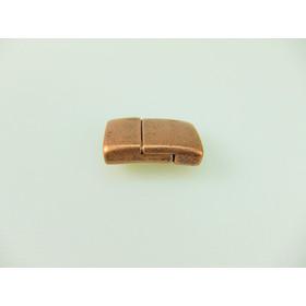 4 Magnetverschlüsse in antik Bronze 14 mm